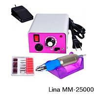 Аппарат (фрезер) для маникюра и педикюра Lina MM-25000 с насадками, Одесса