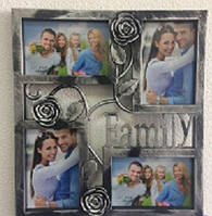 Мультирамка для фото Family Rose на стену