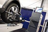Регулировка углов развал-схождения двух осей автомобиля