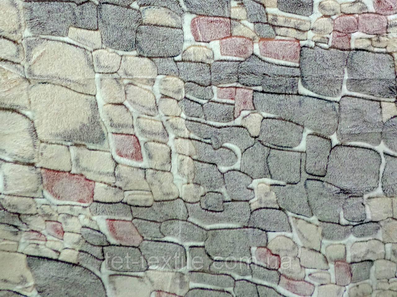 Плед из бамбукового волокна Wellsoft Камни (200х220)