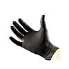 Перчатки одноразовые, 100 шт.  Нитриловые/черные., фото 3