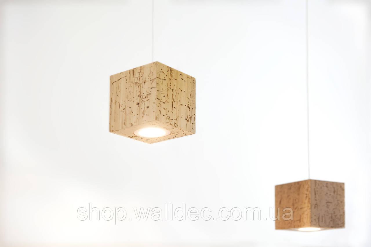 Светильник деревянный подвесной Rubicon 3