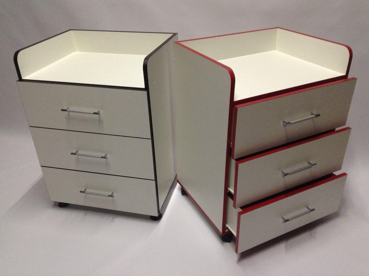 Косметологическая тележка / столик мастера с ящиками