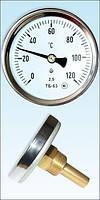 Термометр биметалический 0-120С