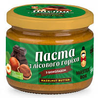 """Паста """"Мастер Боб""""  Лесной орех с шоколадом"""