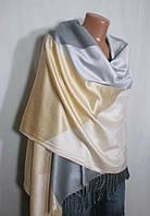 Женский шарф-палантин многоцветный на каждый день