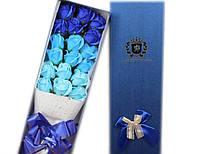 Букет 17 мыльных роз ручной работы для любимых женщин