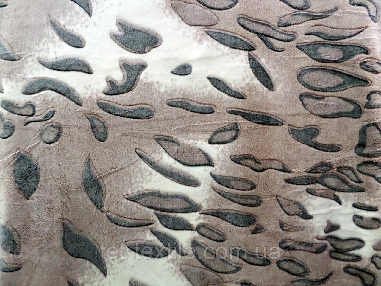 Плед из бамбукового волокна Wellsoft Листья (200х220)