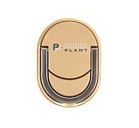Кольцо держатель для смартфонов PowerPlant, золотой