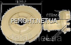 Эжектор белый пластик  разборной Dобщ 142 D1 30 D2 7