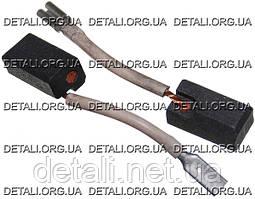 Щетки Hitachi 6,5х7,5х14 выход сзади поводок мама оригинал 999-091