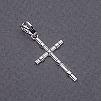 Подвеска Xuping Крест серебристый 3х1,5см