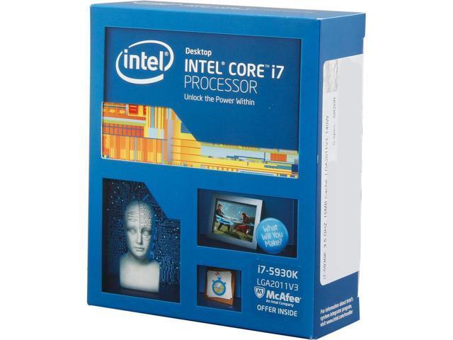 "Процессор Intel Core i7 5930K TRAY 3.5GHz/5GT/s/15MB s.2011-3 ""Over-Stock"""