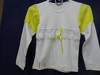 Блузка для девочки 100%хлопок, 34р.(134см)-белая - Авекс Украина
