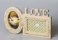 Мультирамка Love для фотографий на стену - на 2 фото