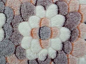 Плед из бамбукового волокна Wellsoft Цветы (200х220), фото 2