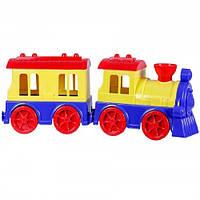 Детская Игрушка Поезд с пассажирским вагоном 4820041670651, Игрушечный Поезд С Вагоном 4820041670651
