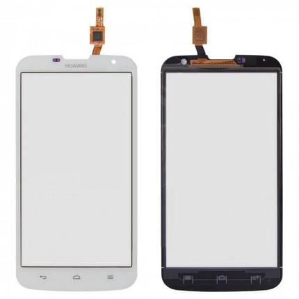 Сенсор (тачскрин) для Huawei G730 (G730-U10) Ascend белый, фото 2