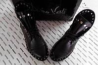 Женские ботинки Kleori.Натуральная кожа