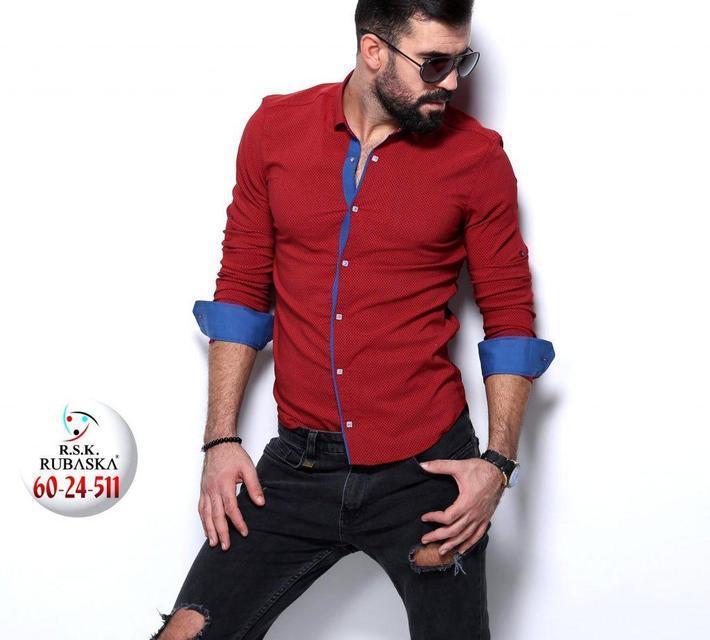 Яркая мужская рубашка новинка сезона, фото 1