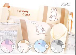 Постельное белье Tuttolina Rabbit 7 предметов