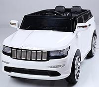 Электромобиль (T-789 WHITE) джип на р.у. 2*6V7AH мотор 2*25W с MP3 114*60*52