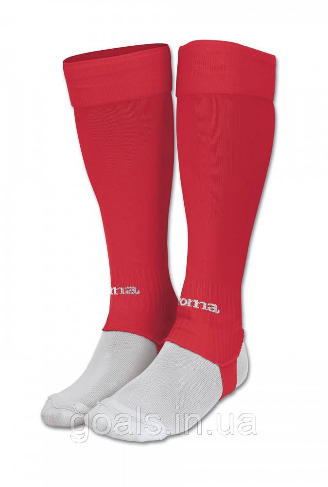 Гетры футбольные без носка LEG  Красные