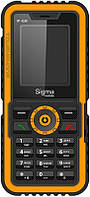 Мобильный телефон Sigma mobile IP68 Х-treme Black-Orange