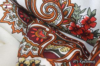Женский павлопосадский платок Виталина, фото 3