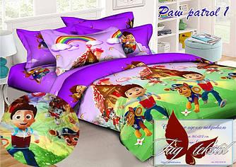 Стеганное покрывало-одеяло для детей Paw patrol 1 (160х212) (Pokryvalo-018)