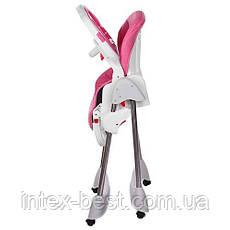 Стульчик для кормления Bambi (M 3216-2-8) Розовый, фото 3