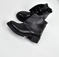 Женские ботинки H@rmEs-болты . Натуральная кожа