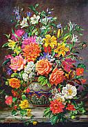 """Пазлы Castorland 1500 элементов - """"Сентябрьские цветы"""". Castoland 151622, фото 2"""