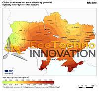 Солнечный потенциал Украины