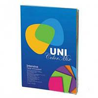 Бумага цветная А4 (80 г/кв.м.) 250 лис., 5 цветов Intensiv Mix (насыщенные цвета)