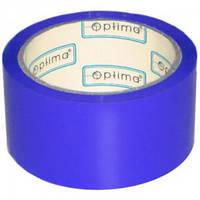 Скотч цветной 48x 35 Optima 45304-02 синий, 45 мкм