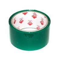 Скотч упаковочный цветной 48мм * 50м Klerk KL1950-G, зеленый, 40мкм