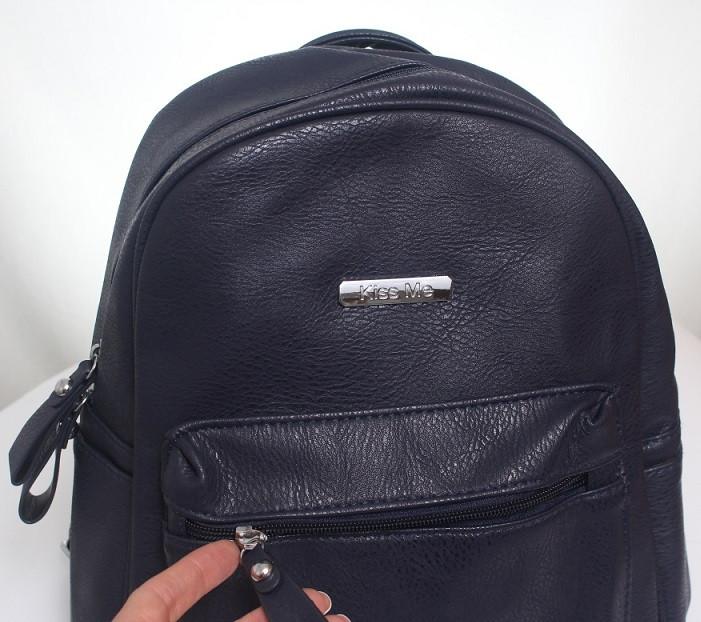 Рюкзак синий Kiss Me