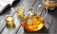 Заварочный стеклянный чайник с фильтром в носике на 500  мл