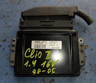 Блок управления двигателем ( ЭБУ )RenaultClio 1.4 16V1998-2005Siemens, Sirius 32, 8200039797, 7700110471,