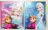 """Блокнот детский 10,5х13 см """"Frozen"""" (Холодное сердце), 60 листов с ручкой"""