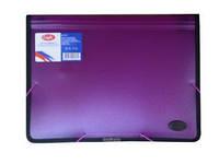 Папка на резинке пластиковая А4 Eagle 5310-0310 на 2 отделения