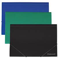 Папка на резинках А4 Format F38601 пластиковая ассорти