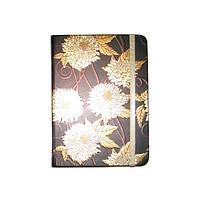 Блокнот на резинке В5 HDU095-4 (88 листов) линия, кремовая бумага, обложка твердая-фольга