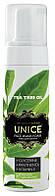 Tea Tree Oil UNICE Очищающая пенка для умывания с чайным деревом 200 мл, код 3609015