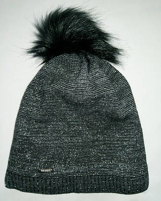 Детская зимняя шапка на флисе 52-54р
