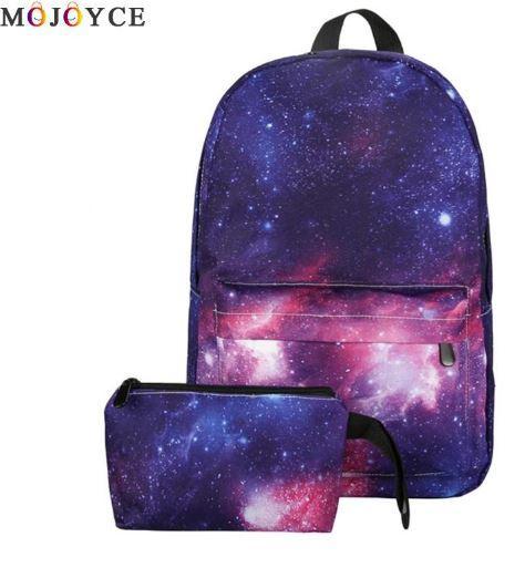 Рюкзак Космос(Галактика) в наборе с пеналом.