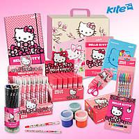 Школьный набор первоклассника для девочки Hello Kitty 30 предметов