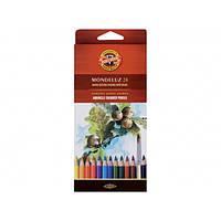 Карандаши акварельные цветные Koh-i-Noor Mondeluz 3718 24 цв