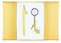 Набор подарочный LANGRES Heel (ручка шариковая + брелок)